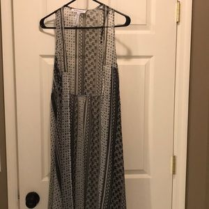 BCBGeneration sheer coverall